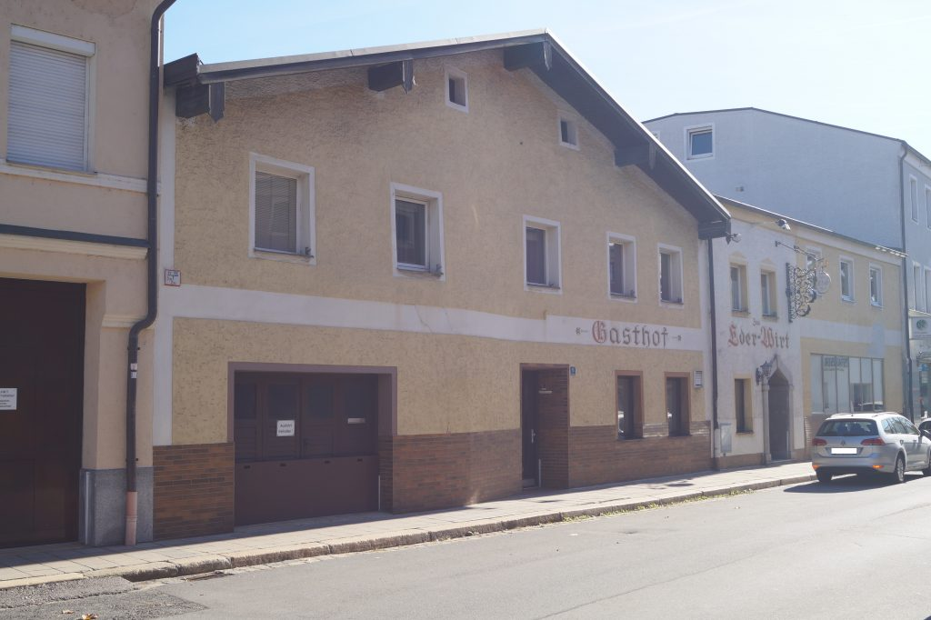 Das Gebäude Brunnendorf in Cham